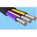 Кабель силовой АВВГ 3 х 6 + 1 х 4 | Алюминиевый кабель