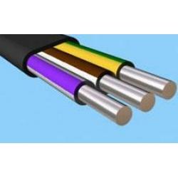 Кабель силовой АВВГ 3 х 6 + 1 х 4   Алюминиевый кабель - фото