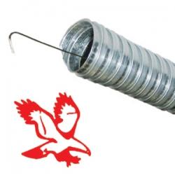 Металлорукав гибкий D20 | Рукав металлический с нитью - фото