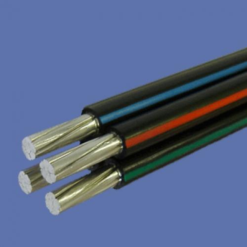 Кабель силовой СИП-2 (3 x 25 + 1 x 35) | Алюминиевый провод самонесущий