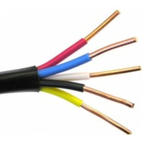 Кабель силовой ВВГ 5 х 16 | медный кабель